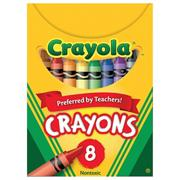 Crayola� Regular Size Crayons, Box of 8 (pack of 12)