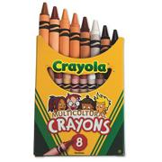 Crayola Multicultural Crayons  (box of 8)