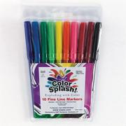 Color Splash! Fineline Markers  (pack of 10)