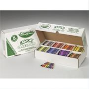 Crayola� Classpack� Crayons - Regular, 8 Colors  (box of 800)