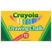 Crayola Drawing Chalk (box of 12)