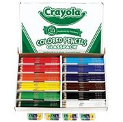 Crayola� Classpack� Colored Pencils - 12 Colors  (box of 240)