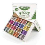 Crayola� Classpack� Crayons - Regular, 16 Colors  (box of 800)