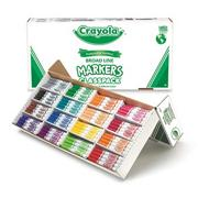 Crayola Classpack Markers - 16 Colors, Regular Tip  (box of 256)