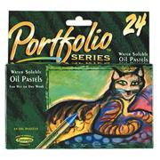 Portfolio� Series Water-Soluble Oil Pastels  (pack of 24)