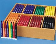Color Splash!� Broadline Markers PlusPack - 8 Colors  (pack of 200)