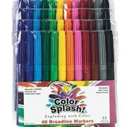 Color Splash!� Broadline Markers  (pack of 48)