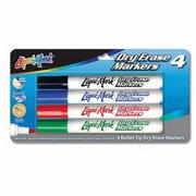 Liqui-Mark Dry Erase Markers  (set of 4)