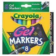 Crayola Gel FX Markers  (set of 8)