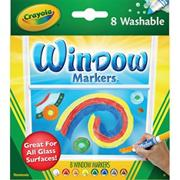 Crayola� Window Washable Markers  (set of 8)
