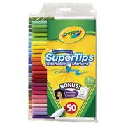Crayola Super Tips Washable Scented Markers  (pack of 50)