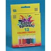 Color Splash! Short Colored Pencils  (pack of 12)