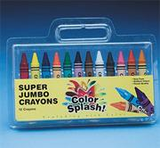 Color Splash!� Super Jumbo Crayons  (box of 12)
