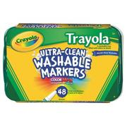 Crayola Trayola Washable Markers (pack of 48)