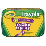 Crayola� Trayola� Colored Pencils  (box of 54)