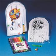 Spin the Wheel Pinball Machine Craft Kit (makes 12)
