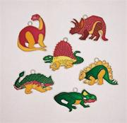 Dinosaur Frames Sun Catchers (set of 12)