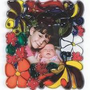 Sun Catcher Photo Frames Assorted (pack of 12)