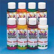 Color Splash!��Glitter Sun Catcher Stain, 4 oz. (pack of 8)