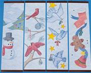 Christmas Designer Panels Craft Kit (makes 24)