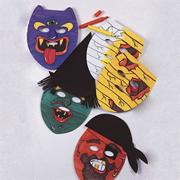 Halloween Masks Craft Kit (makes 24)