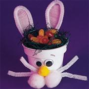 Flower Pot Bunny Craft Kit (makes 24)