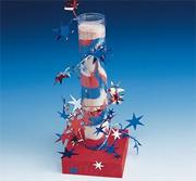 Stars and Stripes Firecrackers Craft Kit (makes 12)