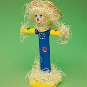 Wood Dowel Scarecrow Craft Kit (makes 12)