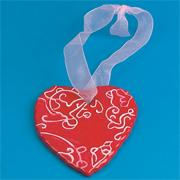 Ceramic Heart Craft Kit (makes 12)
