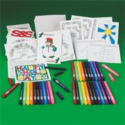 Holiday Cards Craft Kit (makes 12)