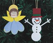 Holiday Happy Ornaments Craft Kit (makes 60)
