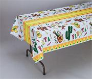 108&quot; x 54&quot; Fiesta Print Table Cover