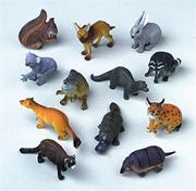 Exotic Plastic Animals  (pack of 12)