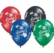 "Casino Balloons 11""  (pack of 100)"