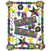 Deluxe Mardi Gras Decorating Kit