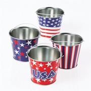Mini Patriotic Buckets (pack of 12)