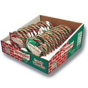 Candy Cane Christmas Wreaths  (display of 24)