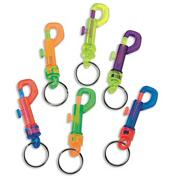 Color Clip Key Chain (pack of 12)