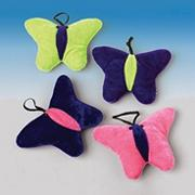 Plush Butterflies (pack of 12)