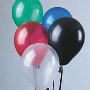 11&quot; Jeweltone Balloons - Assorted Colors  (pack of 100)