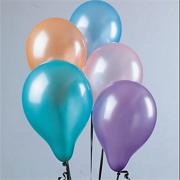 11&quot; Pearltone Balloons - Assorted Pastel Colors  (pack of 100)