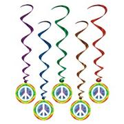 Peace Whirls (set of 5)