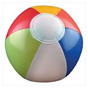 Multicolored Beach Ball 6� (pack of 12)