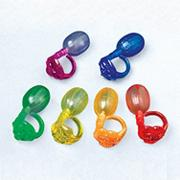 Crystal Squirt Rings (pack of 12)