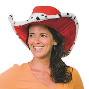 Red Hat with Leopard Trim