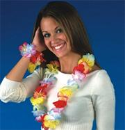 "36"" Deluxe Floral Leis  (pack of 12)"