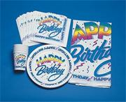 Happy Birthday Cups, 9-oz. (pack of 12)