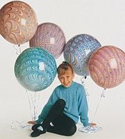 18&quot; Peacock Balloon  (bag of 25)