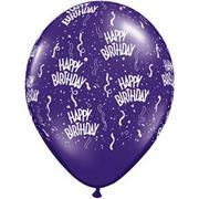 Happy Birthday Balloons  (pack of 100)