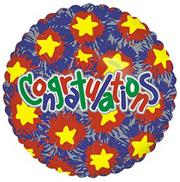 18&quot; Foil Balloon - Congratulations  (pack of 10)